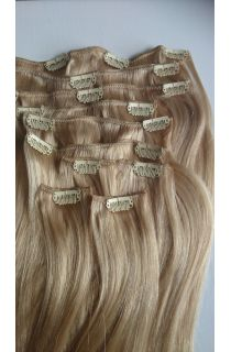 European Virgin Human Hair Clip-in Extensions